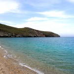 Two days in Andros: Achla beach